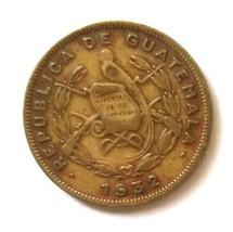 Guatemala 1 centavo Coin km249 1932 - $0.75