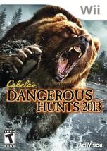 Cabela's Dangerous Hunts 2013 - Nintendo Wii - $25.50