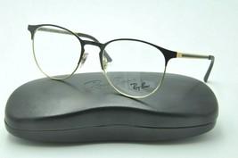 Ray Ban RB 6375 Eyeglasses 2890 Black Gold Frames 53mm + Case - $90.65