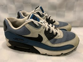 Nike Air Max 90 Essential Grey Mist Men's Shoes Size 10.5 Blue Gray 5373... - $237.59