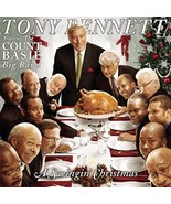 A Swingin' Christmas Featuring The Count Basie Big Band Tony Bennett Cd - $10.99