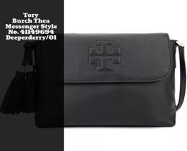 NWT Tory Burch Thea Messenger Crossbody Style No. 41149694 / Deepderry/01 - $406.73