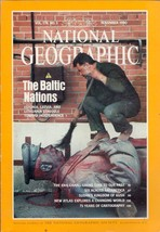 National Geographic Magazine November 1990 The Baltic Nations - $3.99