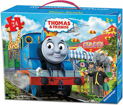 Ravensburger Thomas and Friends - Circus Fun Floor Puzzle In A Suitcase Box: 24 - $29.91