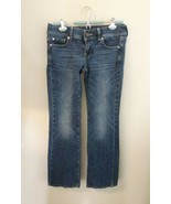 American Eagle Womens  Jeans Outfitters Stretch Denim Size 4 Short Slim ... - $18.69