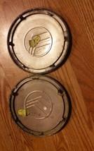 Two Mercury Sable Wheel Center Caps Metal Alloy Finish image 2
