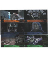 Star Wars Trilogy Widevision Laser Cut Card Set of 6 NEW UNUSED - $34.82