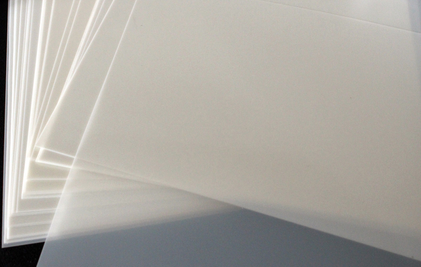 "Blank Mylar Stencil Sheets - 8.5""x11"" 10 Mil OFFICIAL Mylar Stencil Material"