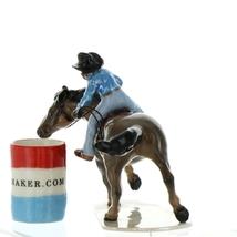 Hagen Renaker Horse Rodeo Barrel Racer Ceramic Figurine image 3
