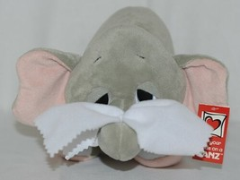 GANZ Brand H13402 Grey Pink Color Get Well Ellie Elephant With Tissue image 2