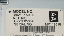 06 Subaru Tribeca B9 Heater Climate Control Dash Air Vents Info Stereo Faceplate image 11
