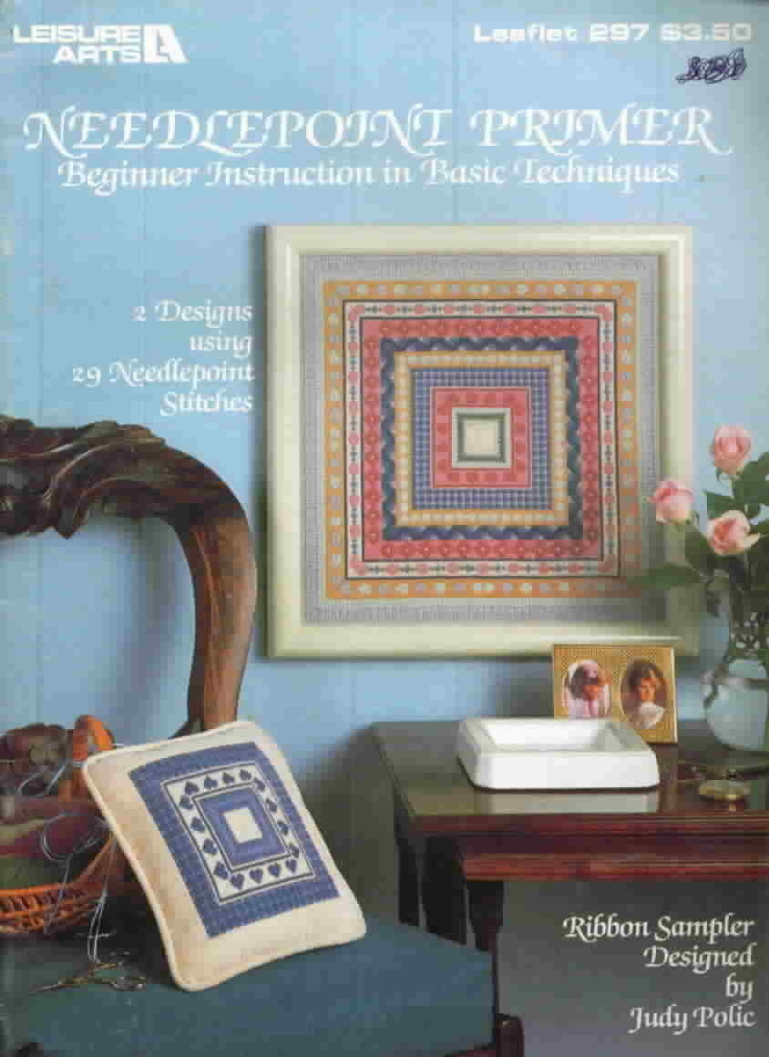 Vintage Needlepoint Primer Leisure Arts by Judy Polic