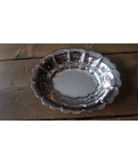 Vintage Silverplate Soap Dish 6 1/8 inches - $24.74