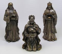 THREE WISE MEN STATUE NATIVITY TRES REYES MAGOS 3 KINGS NACIEMNTO - $104.00