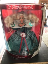 1995 Happy Holidays Barbie, Special Edition, Mint In Box, Blonde - $22.43