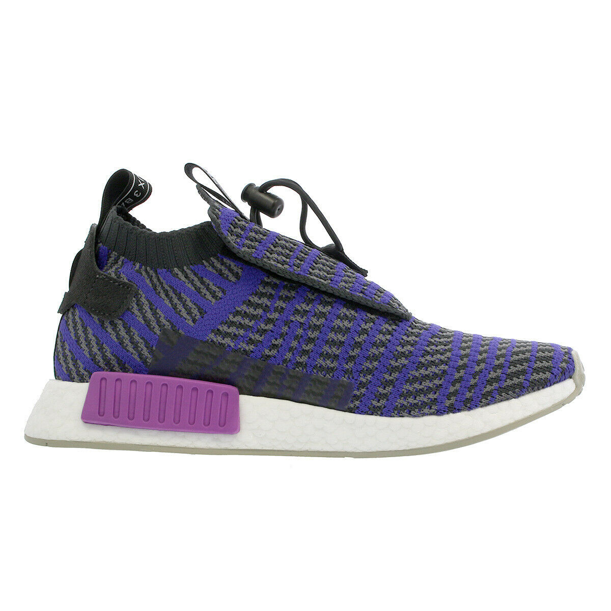 Adidas Originals NMD TS1 PK Primeknit Carbon Blue Boost BB9177 Mens Size 9.5