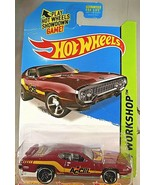 2014 Hot Wheels #244 HW Workshop-Performance '71 PLYMOUTH ROAD RUNNER Pl... - $8.00