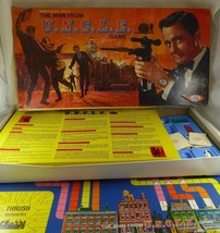 VINTAGE IDEAL 1965 ~MAN FROM U.N.C.L.E. ~BOARD GAME ~TV SHOW~ SPIES - $245,05 MXN