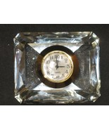 Collectble Mini Clock Geneva Crystal - $17.25
