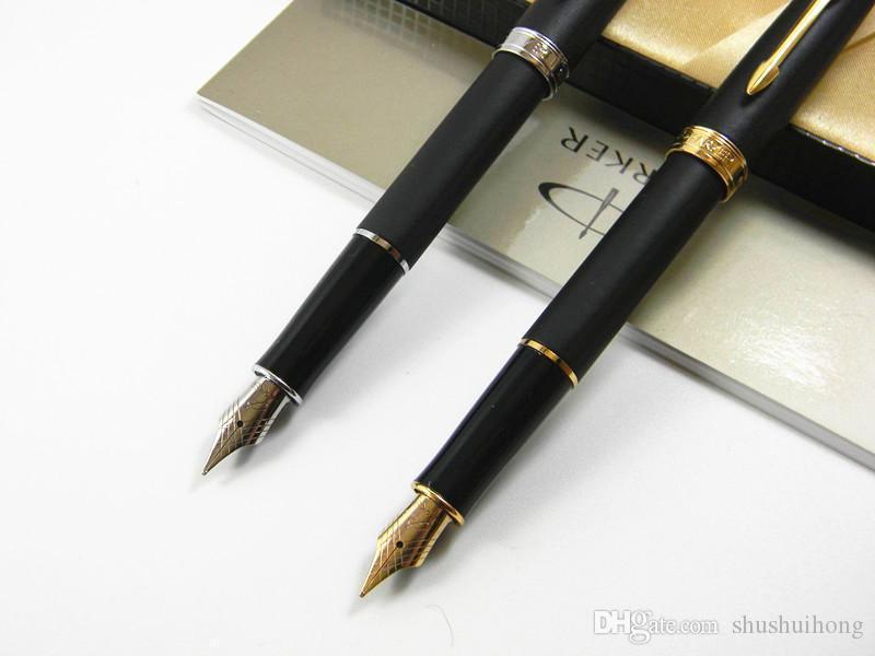 office golden gift Matte Black M Nib Fountain Pen