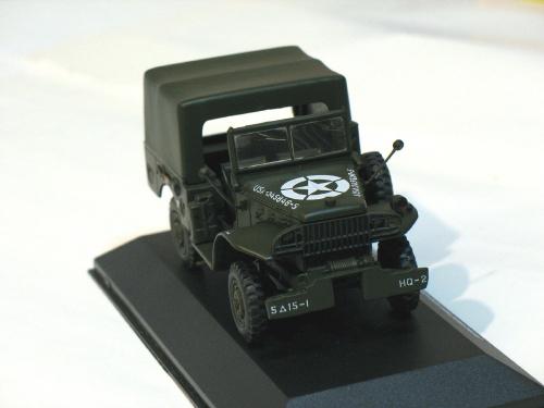 """Dodge WC52 Weapons Carrier """"Liberation De Paris"""" 1944 1/43 die cast model car (R"""