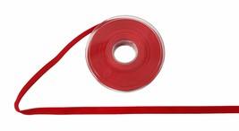 Plain Velvet Red Ribbon 16mm Sold in 5 Metre Lenghts - $15.12
