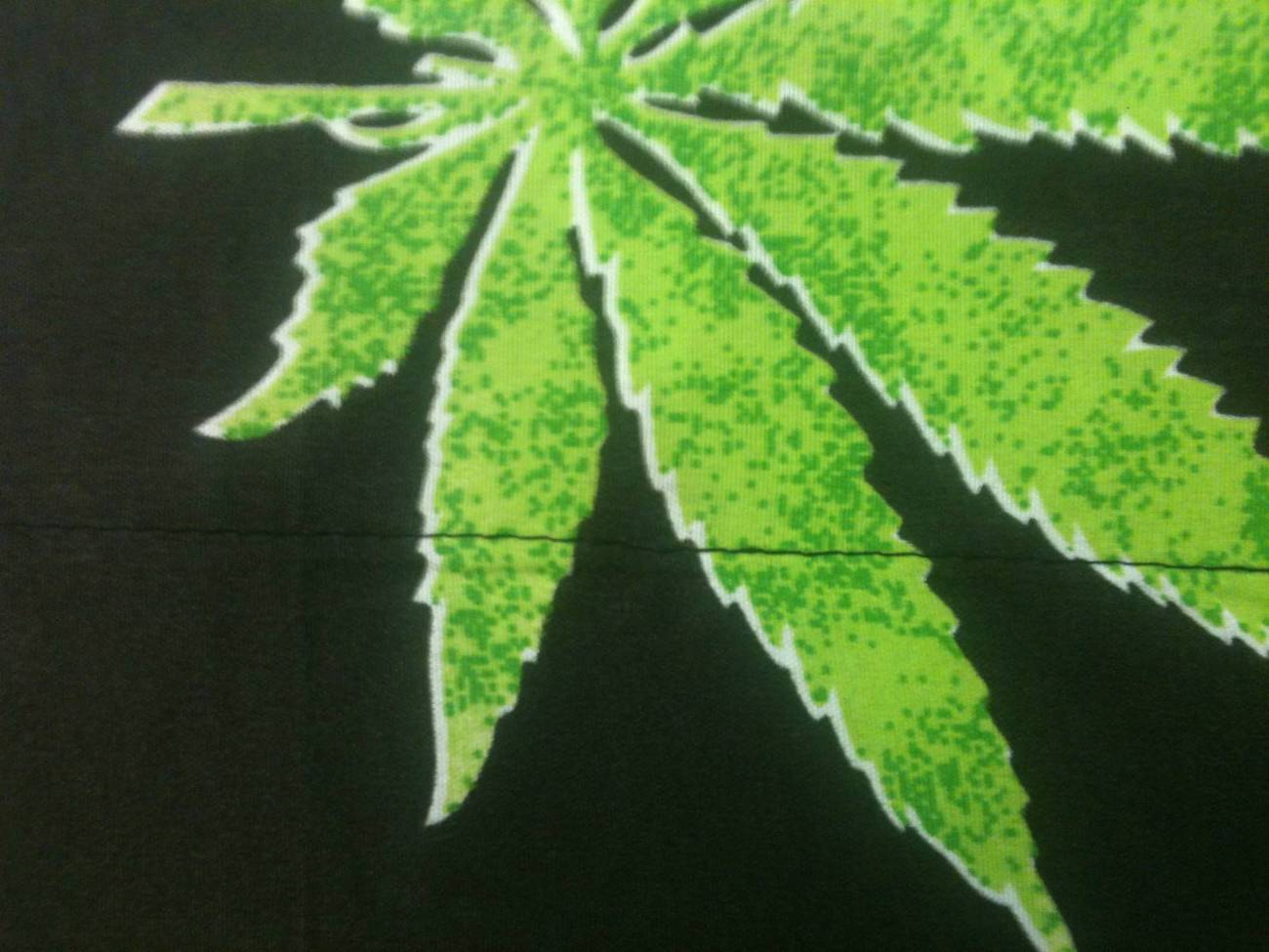 pot    marijuana leaf weed 420 microfiber bed sheet set