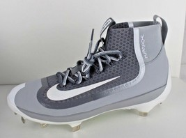 huge selection of f088f 08f9a Nike Bsbl Huarache pour Homme Montant Baseball Cale Gris Blanc Taille 8 -   23.12