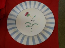 "Beautiful POPPIES ON BLUE by LENOX...14"" Wood Platter WALL PLAQUE - $22.36"