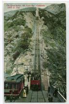 Great Incline Mt Lowe Railway Railroad California 1910c postcard - $5.94