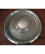 """Chrysler Car Hubcap Wheel Cover METAL OEM 1967 14"""" Hub CAP Hollander 302... - $24.99"""
