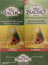 TIO NACHO Mexican Herbs Shampoo and Conditioner, Twin Pack (2 Pack 14 fl... - $24.45
