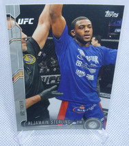 2015 Topps UFC Chronicles Aljamain Sterling Silver Rookie Card #227 - $29.69