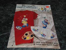 No Sew Fabric Applique 6293 Paint It by Daisy Kingdom - $3.99