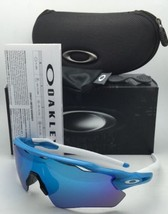 New OAKLEY Sunglasses RADAR EV PATH OO9208-03 Sky-Blue Frame w/ Sapphire Iridium