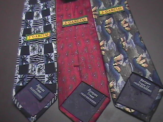 J Garcia Neck Ties Three Banyan Tree Neck Ties All From Collection Fourteen