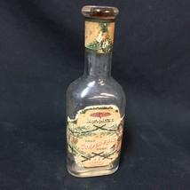 VTG Eau de Toilette Glass Bottle Japanese True Corylopsis Odor Tappan Ne... - $34.64