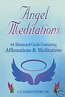 Angel Meditations Cards Deck New Sealed