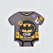 Batman First Year Milestone Belly Stickers Baby NEW  - $8.14