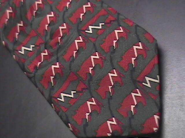 Ralph Marlin RM Style Neck Tie Stockbroker II Silk