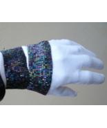 Beaded Stretch Rocker Bracelet Hollywood Trendy! Multi - $3.00
