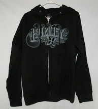 Hurley Black Zip Front Hoodie Size Small BNWT - $39.99