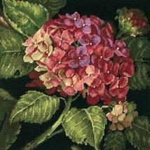 NIP SEALED Dimensions Hydrangea Bloom Needlepoint Kit  #20053 SHIP FREE - $29.65