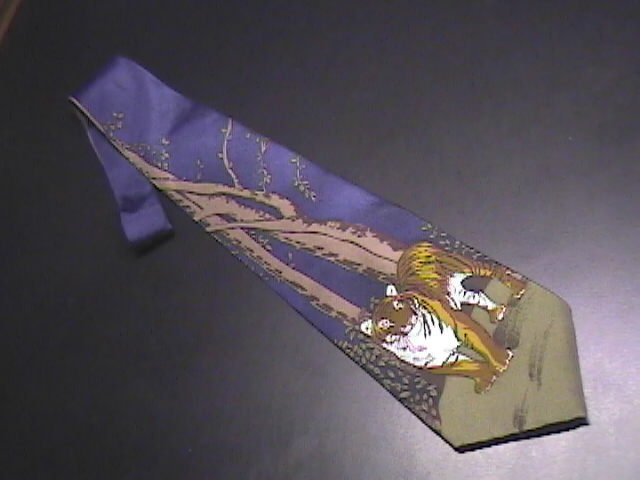 Tie world wildlife fund bengal tigers  design 145 01