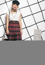 80s vintage tartan skirt - $40.13