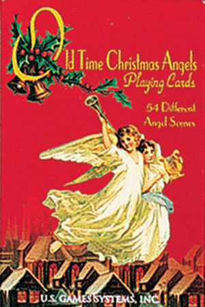 Old Time Christmas Angels Playing Cards Beautiful! New