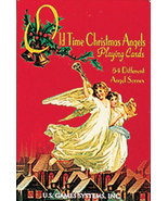 Old Time Christmas Angels Playing Cards Beautiful! New - $8.95