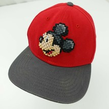 Mickey Mouse Pixels Disney Youth Ball Cap Hat Snapback Baseball  - $13.85