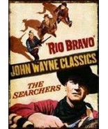 Rio Bravo & The Searchers Double Feature 2X DVD ( Ex Cond.)  - $15.80