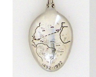 Souvenir Spoons - Commemorative - Voyage of Columbus
